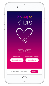 Lovers & Liars Home Screen
